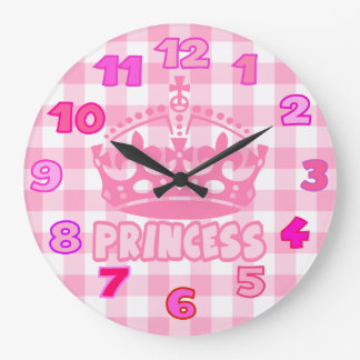 princess room wall clock
