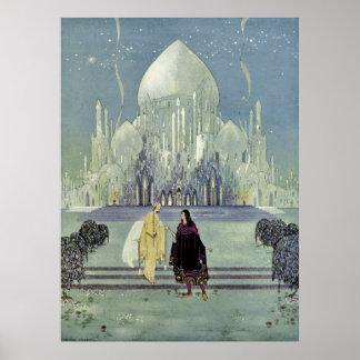 Princess Rosette by Virginia Frances Sterrett Poster