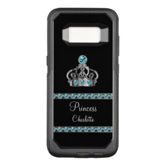Princess Royal Crown Monogram OtterBox Commuter Samsung Galaxy S8 Case