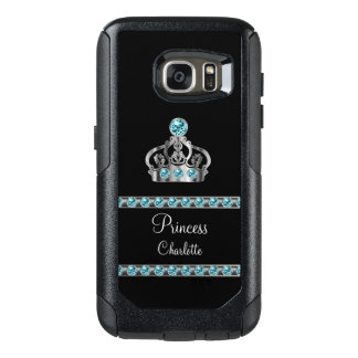 Princess Royal Crown Monogram OtterBox Samsung Galaxy S7 Case