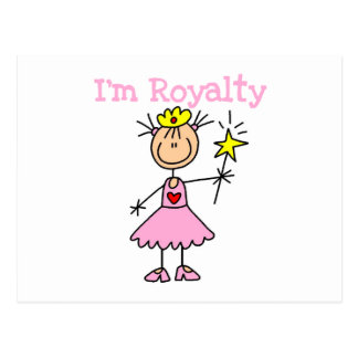 Princess Royalty Postcard