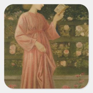 Princess Sabra  1865-66 Square Sticker