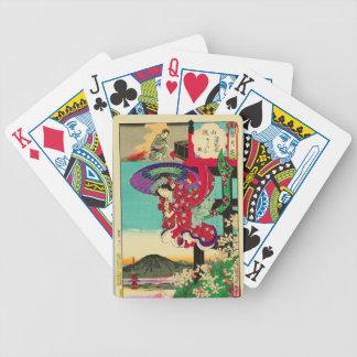 Princess Sakura - Setsu Getsu Ka Toyohara Chikanob Poker Deck