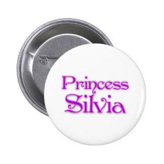 Princess Silvia Pinback Buttons