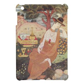 Princess sitting in a garden, Safavid Dynasty iPad Mini Case