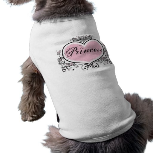 Princess Sleeveless Dog Shirt