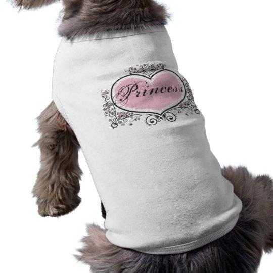 Princess Sleeveless Dog Shirt
