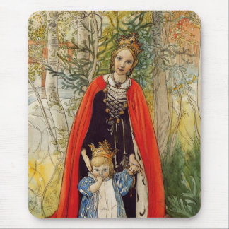 Princess Spring Mother and Daughter Mouse Pad