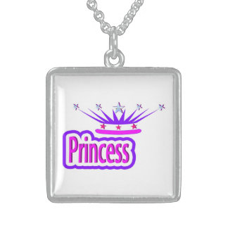PRINCESS STERLING SILVER NECKLACE