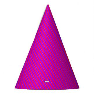 Princess Stripes-2-PAPER PARTY HATS
