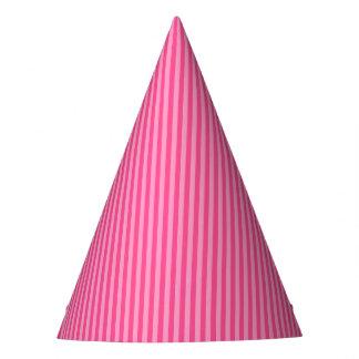 Princess Stripes-3-PAPER PARTY HATS