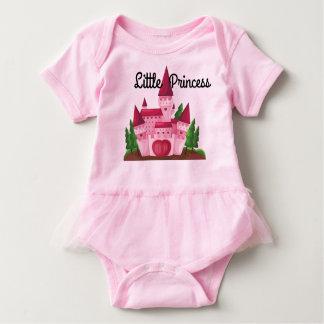 Princess themed babygirl tutu baby bodysuit