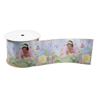 Princess Tiana Satin Ribbon