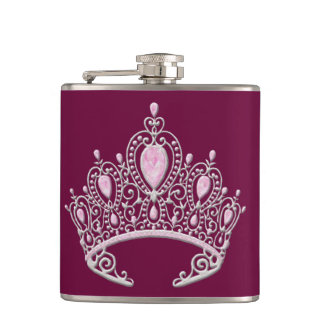 Princess Tiara Flask