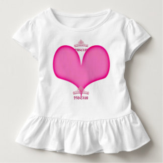 Princess Toddler Ruffle T Toddler T-Shirt