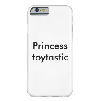 Princess Toytastic iPhone case