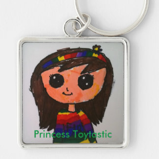 Princess Toytastic Premium Square Keychain