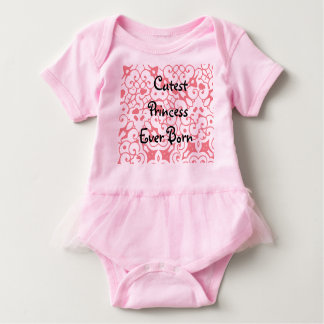 Princess Tutu Baby Bodysuit