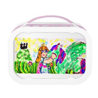 princess unicorn lunch box