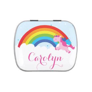 Princess Unicorn Candy Tins