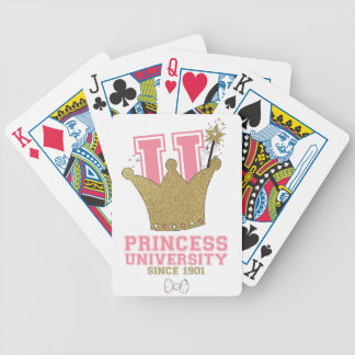 Princess University Bicycle Playing Cards