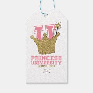 Princess University Gift Tags