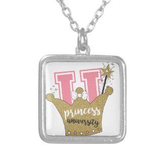 Princess University Silver Plated Necklace