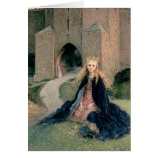 Princess with a Spindle Card