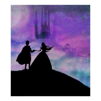 princess with prince Poster