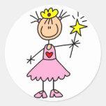 Princess With Wand Sticker