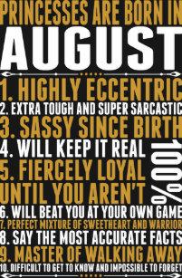 August Birth Month T-Shirts & Shirt Designs | Zazzle com au