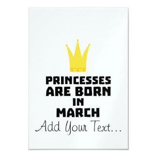 Princesses are born in MARCH Z1szr Card