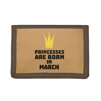 Princesses are born in MARCH Z1szr Tri-fold Wallet