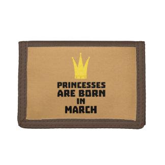 Princesses are born in MARCH Z1szr Tri-fold Wallet