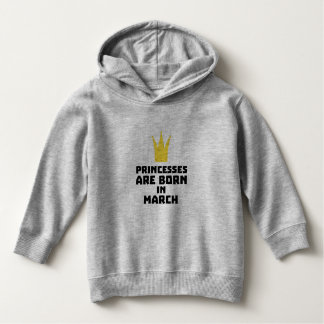Princesses are born in MARCH Z60zh Hoodie