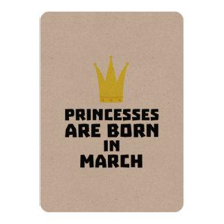 Princesses are born in MARCH Zhv17 Card