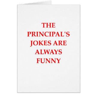 principal card