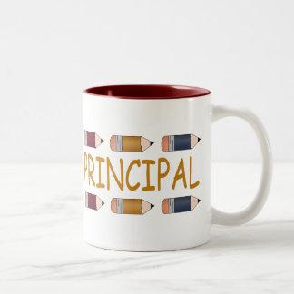 Principal Gift With Pencil Border Coffee Mug