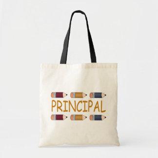 Principal Gift With Pencil Border Tote Bag