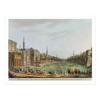 Principal Square in Grand Cairo, with Murad Bey's Postcard