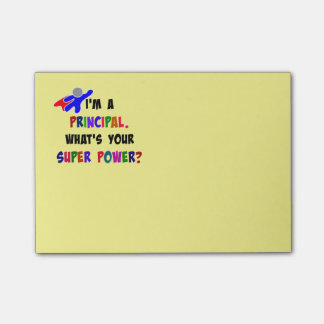 Principal Super Power custom design Post-it® Notes