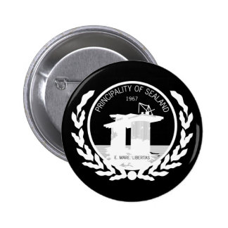 principality of sealand seal crest buttons