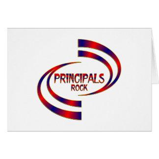 Principals Rock Card