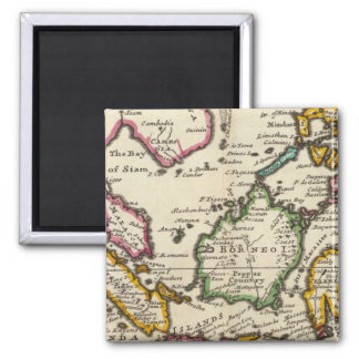 Prinicipal islands of the East Indies Square Magnet
