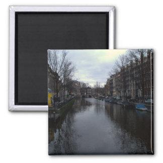Prinsengracht canal Amsterdam Refrigerator Magnets