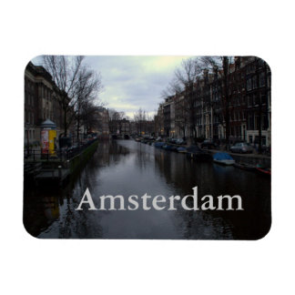 Prinsengracht canal, Amsterdam Rectangular Photo Magnet