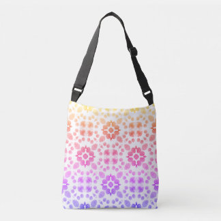 Print All Over Tote With Ombre Pattern