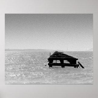 """Print """"Berkeley Pier"""" by Emmett Loverde"""