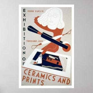 Print & Ceramics Expo 1938 WPA