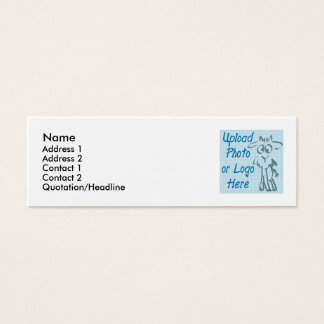 Print my own business cards white